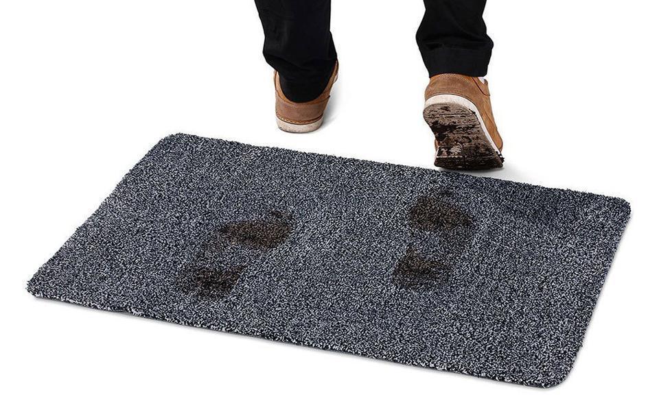 Оригинальный придверный коврик Super Clean Mat Супервитывающий