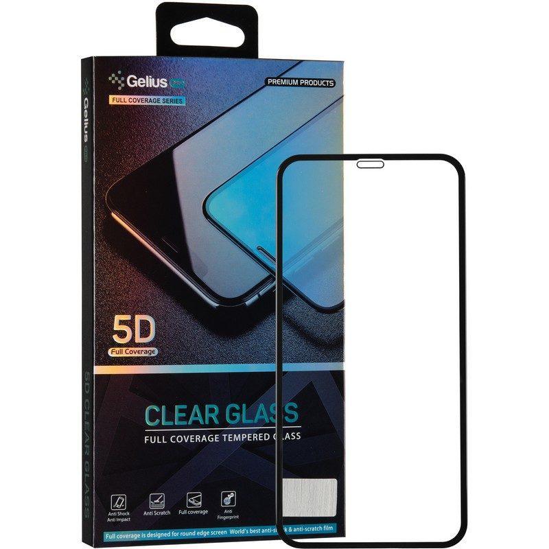 Защитное стекло Gelius Pro 5D Clear Glass для iPhone XR черный
