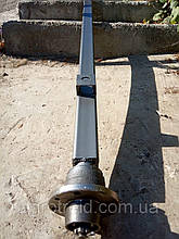 Балка АТВ-155 (01Р) для прицепа квадратная, усиленная (толщина 4 мм) со ступицами шплинтованными Бут