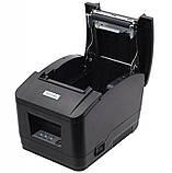 Чековый принтер Xprinter XP-N160II-U 80мм USB интерфейс с автообрезкой, фото 4