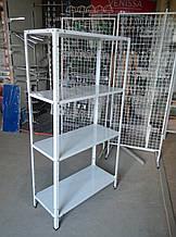 Стелаж 1800х600х600 складський металевий легкий