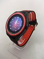 Умные часы Smart Watch R10 чёрно-красные