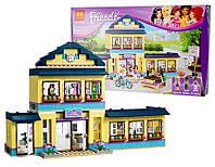 Конструктор Bela Friends 10166, Школа Хартлейк Сити, 487 дет, копия Lego Friends