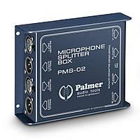 Двухканальный микрофонный сплиттер Palmer Pro PMS02, фото 1