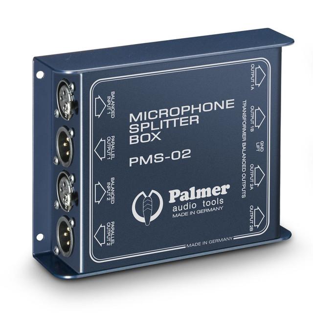 Двухканальный микрофонный сплиттер Palmer Pro PMS02