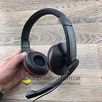 Игровые наушники с микрофоном Salar A50 геймерские проводные для компьютера и ноутбука