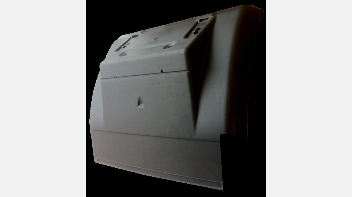 Крило заднє R [з вирізом] передня частина RENAULT MAGNUM/PREMIUM [без кронштейна]