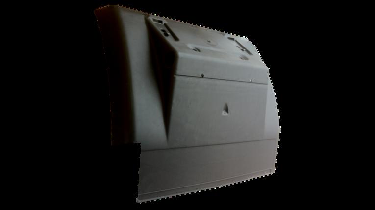 Крило заднє L [з вирізом] передня частина RENAULT MAGNUM/PREMIUM [без кронштейна], фото 2