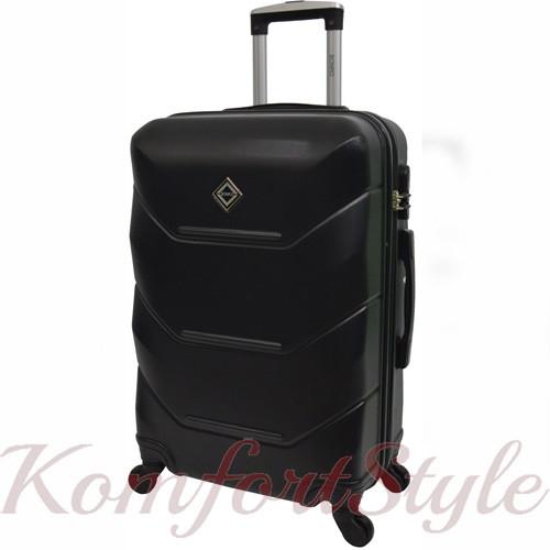 Дорожный чемодан на колесах Bonro 2019 большой черный (10500607)