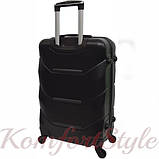 Дорожный чемодан на колесах Bonro 2019 большой черный (10500607), фото 2
