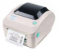 Принтер этикеток, термопринтер штрих кодов, QR кодов Xprinter XP-470B USB 110mm