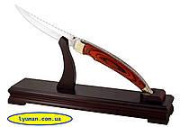 Нож на подставке Grand Way 8017