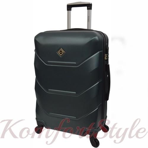 Дорожный чемодан на колесах Bonro 2019 маленький изумрудный (10500409)