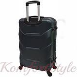 Дорожный чемодан на колесах Bonro 2019 маленький изумрудный (10500409), фото 2