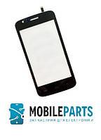 Сенсор (Тачскрин) для телефона Explay Atom (Черный) Оригинал Китай