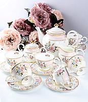 Фарфоровый чайный сервиз на 15 предметов 586-349