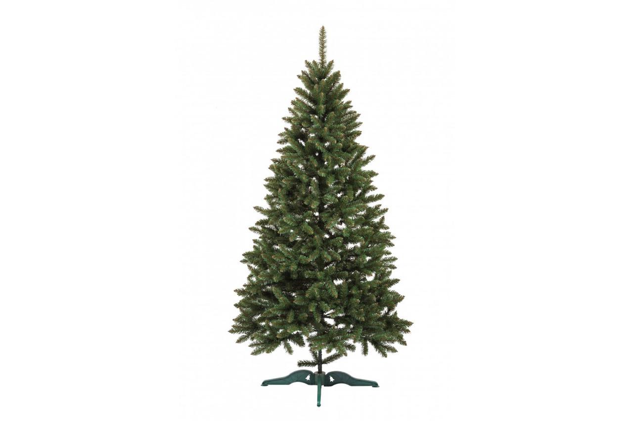 Штучна новорічна ялина Анастасія Зелена 210см ЯША-З-2,10