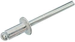 Заклепка EU Al\St c плоской головкой 4.0х25 мм /15-20 ISO 15977
