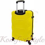 Дорожный чемодан на колесах Bonro 2019 средний желтый (10500500), фото 2