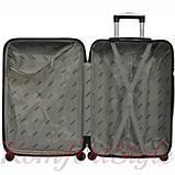 Дорожный чемодан на колесах Bonro 2019 средний желтый (10500500), фото 3