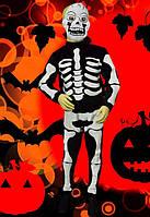 Скелет ( мальчик ) рост 104-116 см . Детские карнавальные костюмы на Хэллоуин