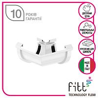 Кут 135 Fitt 125 білий