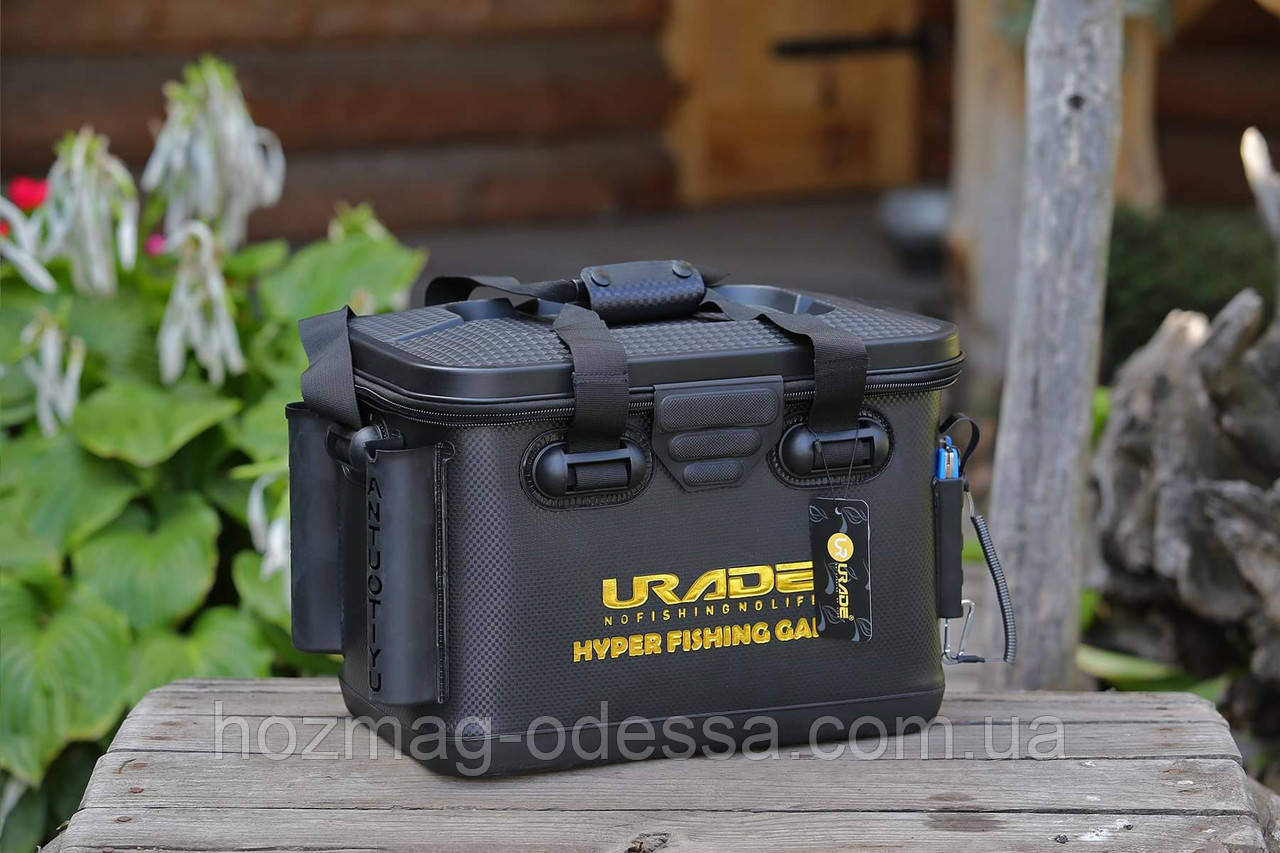 Сумка-ящик FanFish UR-40 (Urade) с подставками для спиннинга и коробкой для снастей