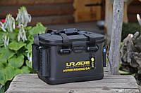 Сумка-ящик FanFish UR-40 (Urade) с подставками для спиннинга и коробкой для снастей, фото 1