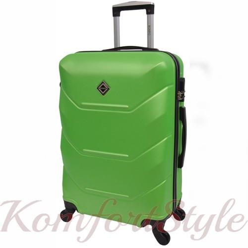 Дорожный чемодан на колесах Bonro 2019 средний салатовый (10500505)