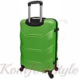 Дорожный чемодан на колесах Bonro 2019 средний салатовый (10500505), фото 2