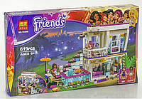 Конструктор Bela Friends 10498, Поп-звезда: дом Ливи 619 дет, копия Lego Friends, фото 1