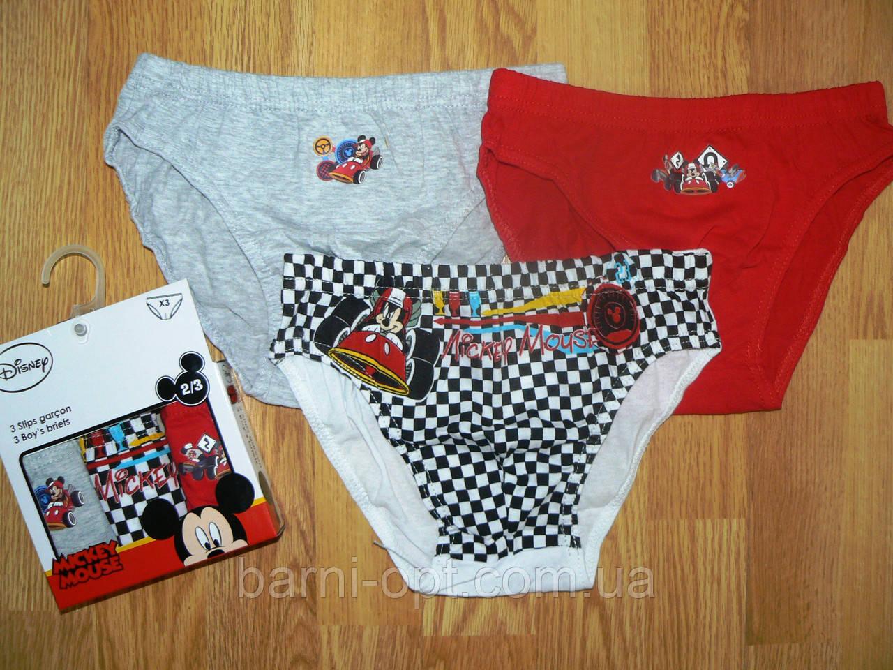 Трусики на мальчиков  Mickey Mouse, Disney,в наличии 2/3 рр