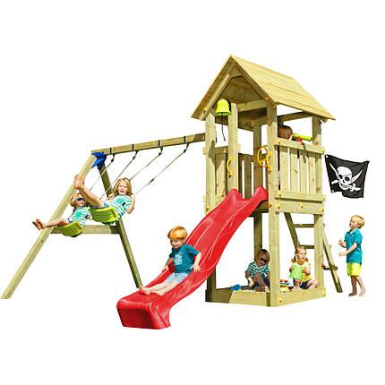 Детская игровая площадка Blue Rabbit KIOSK + SWING, фото 2