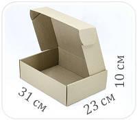 Коробка микрогофрокартон 31х23х10 см