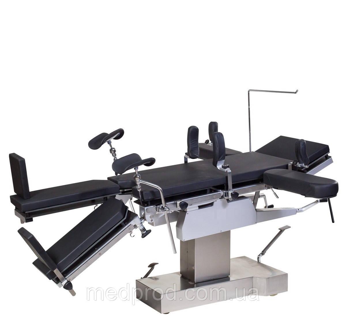 МТ300 стіл операційний універсальний рентгенопрозорий з механіко-гідравлічним приводом