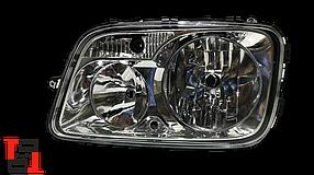 Фара головного світла р/керування LH Mercedes Actros MP3
