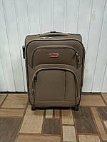 Дорожня валіза на колесах хакі