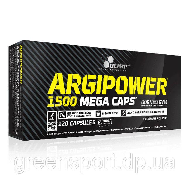 Аминокислота Аргинин Olimp Argipower 1500 Mega Caps (120 капсул)