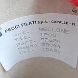 30% бебі альпака, 40% меринос, 30% інші склади PECCI FILATI - пряжа для машинного і ручного в'язання, фото 3