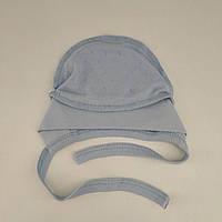 Чепчик на завязках для новорожденного (ажур), р. 0-1 мес
