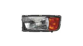 Фара головного світла р/керування LH Mercedes Actros MP1
