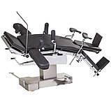 МТ300 стіл операційний універсальний рентгенопрозорий з механіко-гідравлічним приводом, фото 3