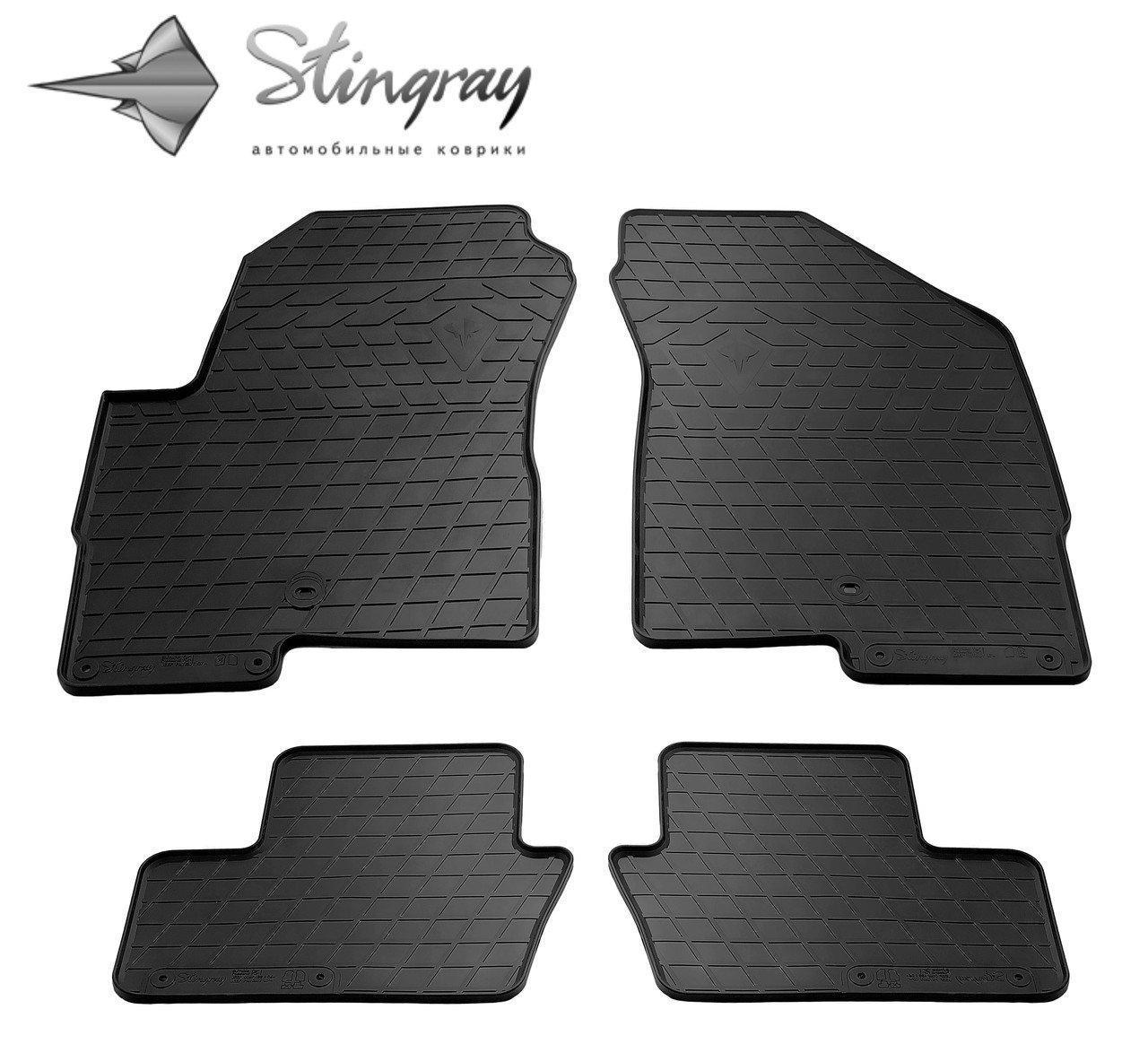 Автомобильные коврики Jeep Wrangler JK 5 дверей 2007-2018 Stingray