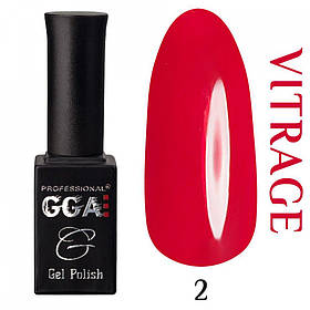Гель-лак GGA Professional Vitrage № 002, 10 мл