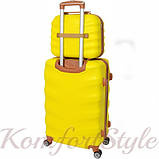 Комплект чемодан и кейс Bonro Next  маленький желтый (10066707), фото 2