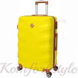 Комплект чемодан и кейс Bonro Next  маленький желтый (10066707), фото 3