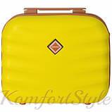 Комплект чемодан и кейс Bonro Next  маленький желтый (10066707), фото 6