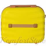 Комплект чемодан и кейс Bonro Next  маленький желтый (10066707), фото 7