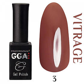 Гель-лак GGA Professional Vitrage № 003, 10 мл