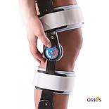 Шарнирный бандаж (ортез) на колено с ограничением сгибания Wellcare 52001, фото 3